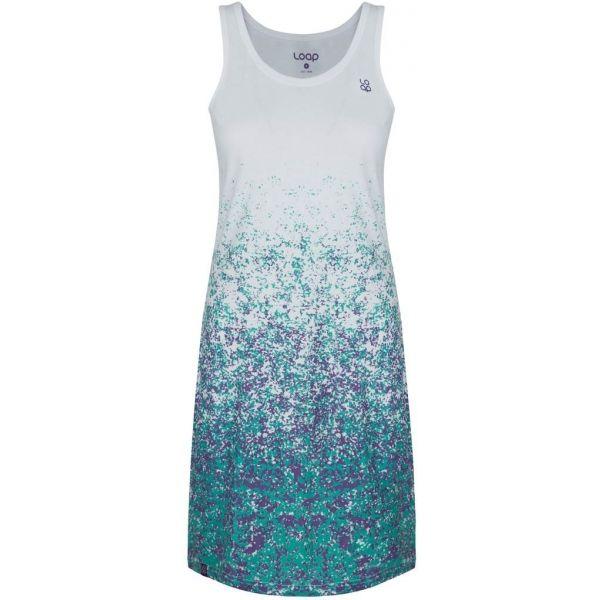 Loap ASILKA bílá M - Dámské sportovní šaty