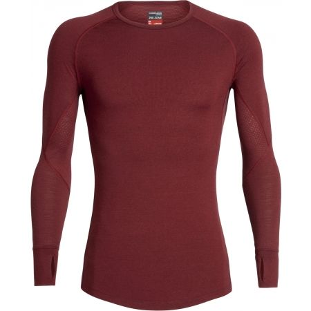 Icebreaker ZONE LS CREWE - Technické tričko z Merina s dlhým rukávom