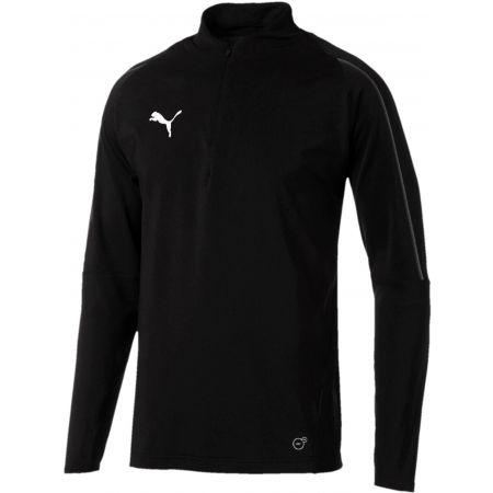 Puma FINAL TRAINING 1/4 ZIP TOP - Koszulka sportowa męska