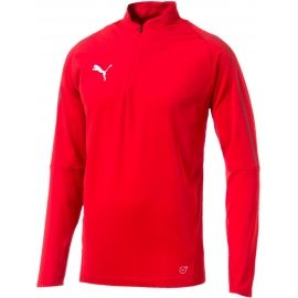 Puma FINAL TRAINING 1/4 ZIP TOP - Men's sports T-shirt