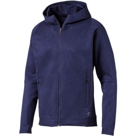 Puma FINAL CASUALS HOODED JACKET - Férfi pulóver