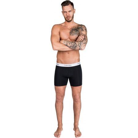 Pánské boxerky - Calvin Klein 2P BOXER BRIEF - 8