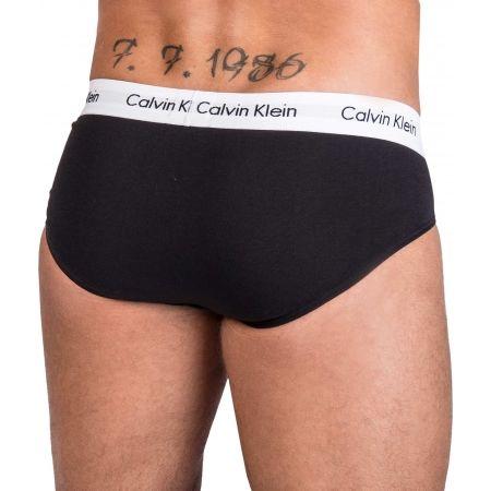 Pánské slipy - Calvin Klein 3 PACK HIP BRIEF - 13