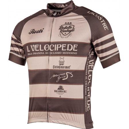 Men's cycling jersey - Rosti VELOCIPEDE - 2
