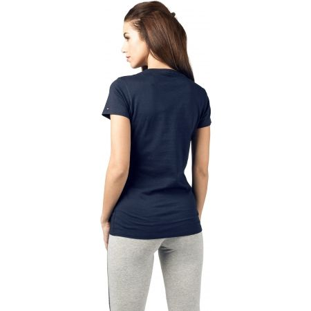 Dámské tričko - Tommy Hilfiger SS TEE PRINT - 2