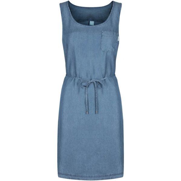 Fotografie LOAP Dámské šaty Nyxi Ensign Blue CLW1987-L06L L LOAP
