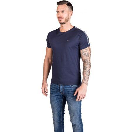 Pánské tričko - Tommy Hilfiger RN TEE SS - 2