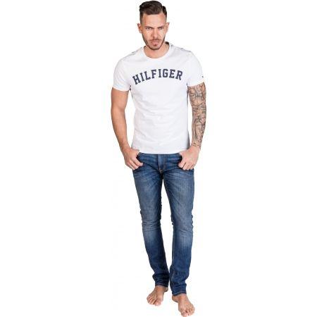 Pánské tričko - Tommy Hilfiger SS TEE LOGO - 4