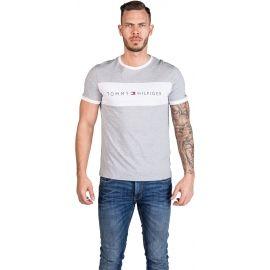 Tommy Hilfiger CN SS TEE LOGO FLAG - Koszulka męska