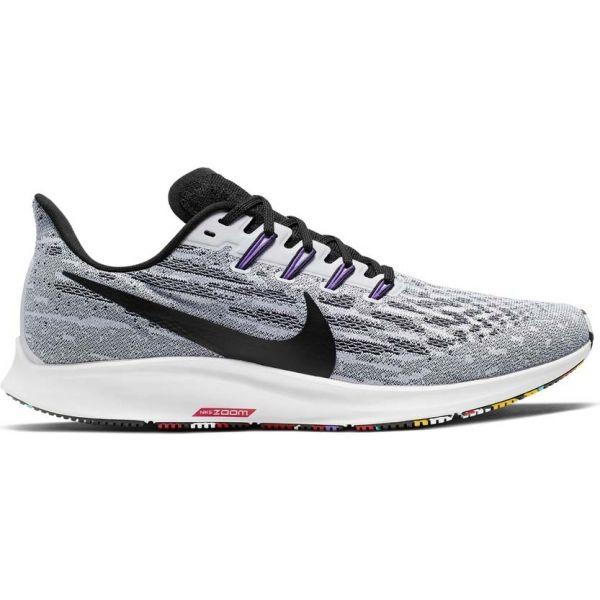 Nike AIR ZOOM PEGASUS 36 bílá 8.5 - Pánská běžecká obuv