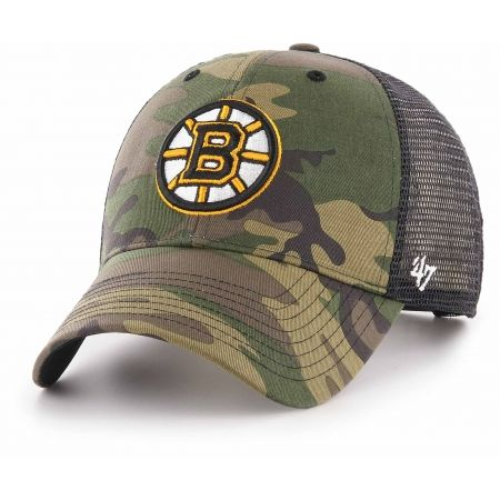 47 NHL BOSTON BRUINS CAMO BRANSON 47 MVP - Šiltovka