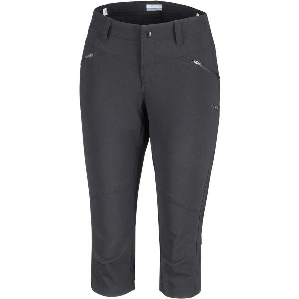 Columbia PEAK TO POINT KNEE PANT šedá 12 - Dámské 3/4 outdoorové kalhoty