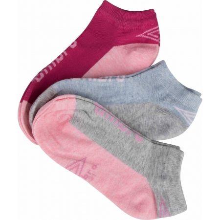 Umbro LOW LINER JUNIORS 3P - Detské ponožky