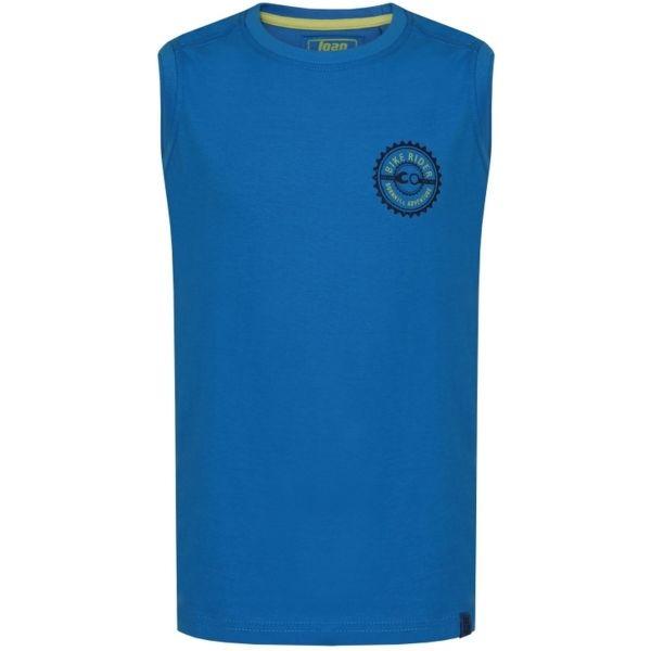 Loap BAKI kék 146-152 - Fiús ujjatlan felső