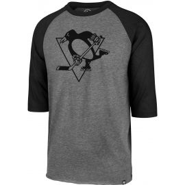 47 NHL PITTSBURGH PENGUINSIMPRINT 47 CLUB RAGLAN TEE - Tricou bărbați