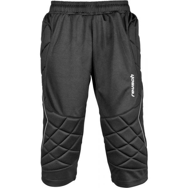 Reusch 360 PROTECTION SHORT 3/4 černá XL - Brankářské 3/4 kalhoty