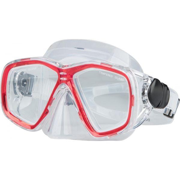 Miton ENKI LAGOON czerwony NS - Zestaw do nurkowania