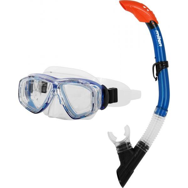 Miton PONTUS LAKE niebieski NS - Zestaw do nurkowania juniorski