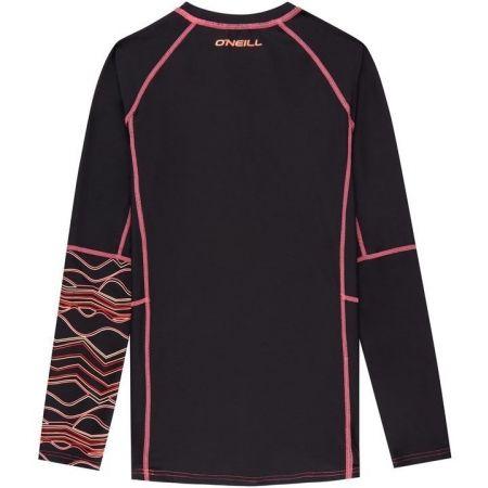 Dívčí triko s UV filtrem - O'Neill PG LONG SLEEVE SKINS - 2