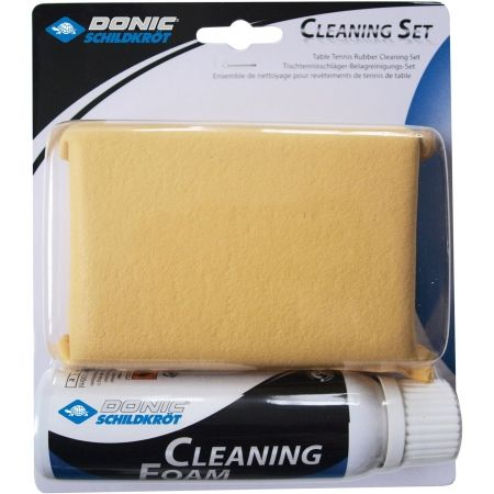 Donic CLEANING SET - Cleaning sponge and spray