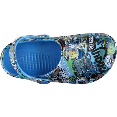 Dětské sandály - Coqui BIG FROG PRINTED - 4