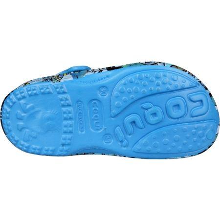 Dětské sandály - Coqui BIG FROG PRINTED - 5