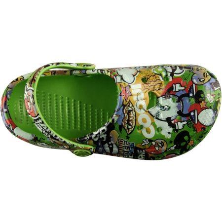 Kids' sandals - Coqui BIG FROG PRINTED - 4