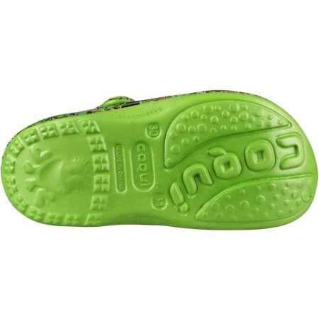 Kids' sandals - Coqui BIG FROG PRINTED - 5