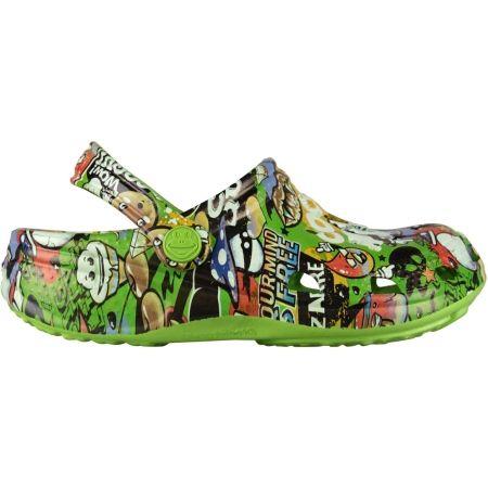 Kids' sandals - Coqui BIG FROG PRINTED - 2
