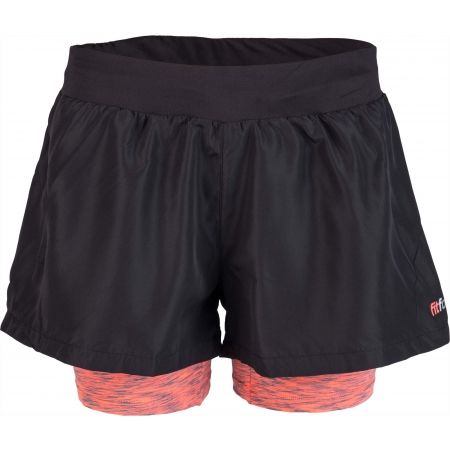 Women's fitness shorts - Fitforce 2V1 NOTY - 2