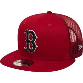 New Era 9FIFTY MLB ESSENTIAL A FRAME BOSTON RED SOX TRUCKER CAP - Pánska klubová truckerka