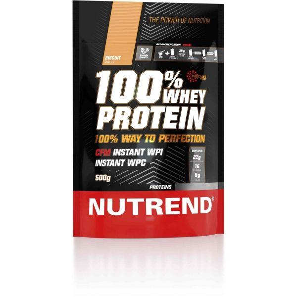 Nutrend 100% WHEY PROTEIN 500 G BISCUIT - Proteín