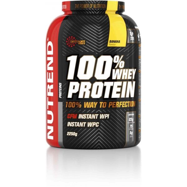 Nutrend 100% WHEY PROTEIN 2250G BANÁN - Proteín