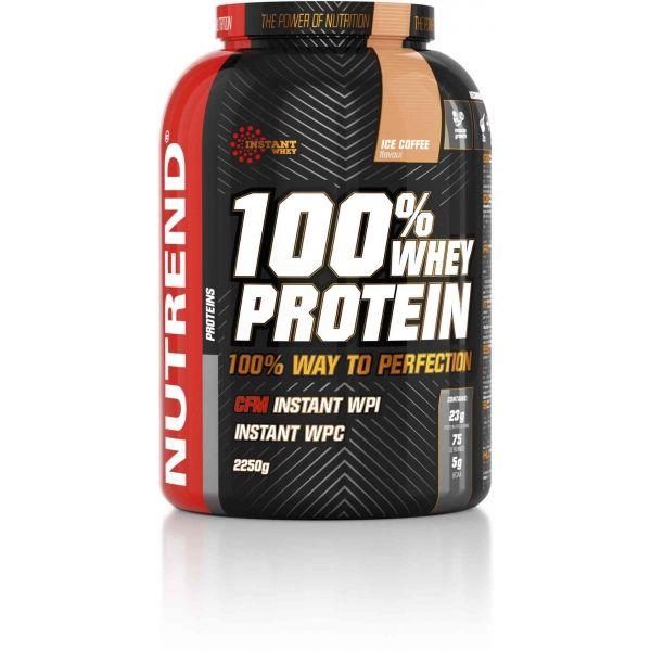 Nutrend 100% WHEY PROTEIN 2250G LEDOVÁ KÁVA - Proteín