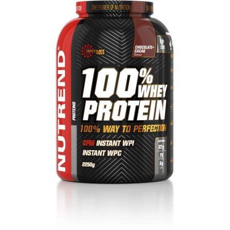 Nutrend 100% WHEY PROTEIN 2250G ČOKOLÁDA + KAKAO - Protein