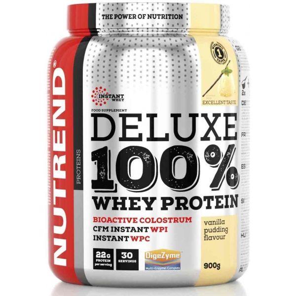 Nutrend DELUXE 100% WHEY 900G PUDINKOVÁ VANILKA - Proteín