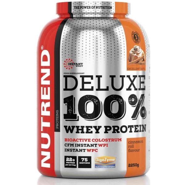 Nutrend DELUXE 100% WHEY 900G SKOŘICOVÝ ŠNEK - Proteín