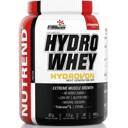 Proteín - Nutrend HYDRO WHEY 800G JAHODA