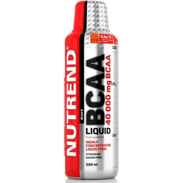 Nutrend BCAA LIQUID 500ML - Aminokyseliny vetvené