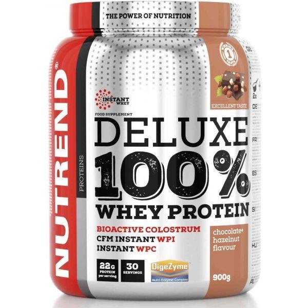 Nutrend DELUXE 100% WHEY 900G ČOKOLÁDA + LIESKOVÝ ORŘECH  NS - Proteín