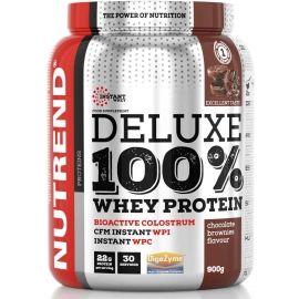Nutrend DELUXE 100% WHEY 900G ČOKOLÁDOVÉ BROWNIES - Protein