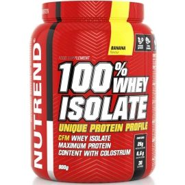 Nutrend 100% WHEY ISOLATE 900G BANÁN - Protein