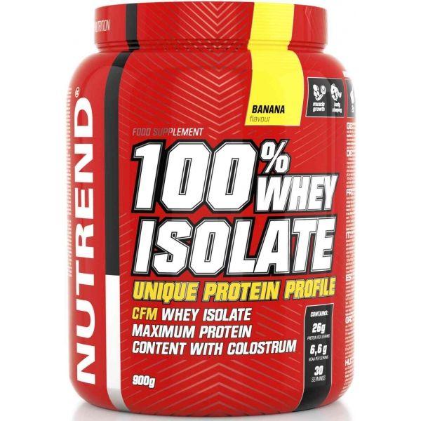 Nutrend 100% WHEY ISOLATE 900G BANÁN - Proteín