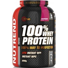 Nutrend 100% WHEY PROTEIN 2250G MALINA
