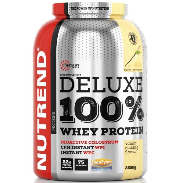 Nutrend DELUXE 100% WHEY 2250G PUDINKOVÁ VANILKA - Proteín