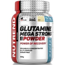 Nutrend GLUTAMINE MEGA STRONG POWDER 500G HRUŠKA