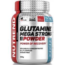 Nutrend GLUTAMINE MEGA STRONG POWDER 500G PUNČ + BRUSINKA - Aminokyseliny