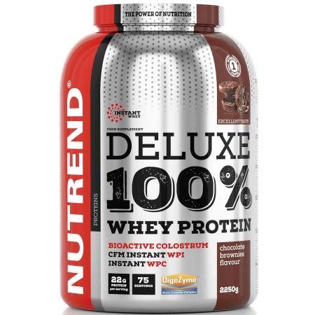 Nutrend DELUXE 100% WHEY 2250G ČOKOLÁDOVÉ BROWNIES - Proteín