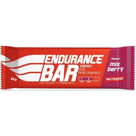 Energie - Nutrend ENDURANCE BAR 45G MIX BERRY