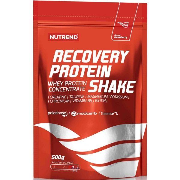 Nutrend RECOVERY PROTEIN SHAKE JAHODA  NS - Regenerácia